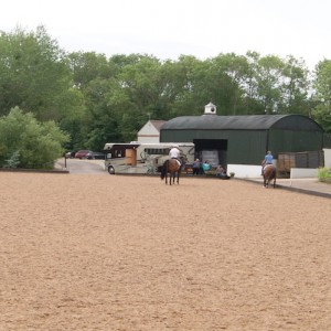 Carl Hester uses Trojan Dressage Turf for his dressage arena surface